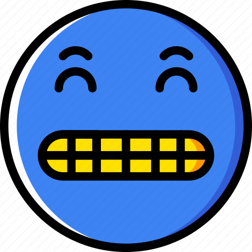 Emoticons, emoji, surprised, face icon