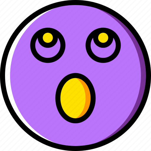 Emoji, emoticons, face, surprised icon - Download on Iconfinder
