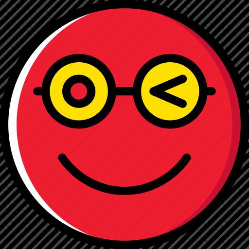 Wink, emoticons, emoji, face icon - Download on Iconfinder