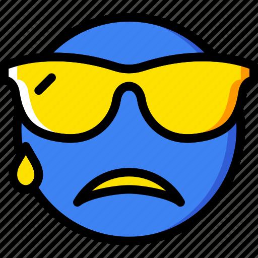 emoji, emoticons, face, macho icon