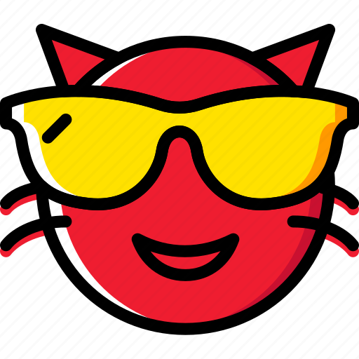 Emoji, emoticons, macho, face icon