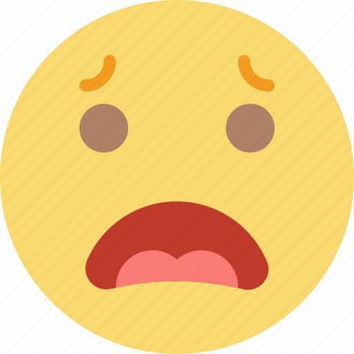 Emoji, emoticons, face, worried icon - Download on Iconfinder