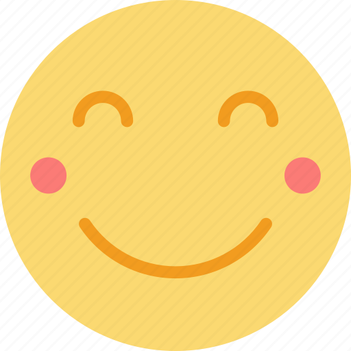 Blushing, emoji, emoticons, face icon - Download