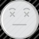 dead, emoji, emoticons, face