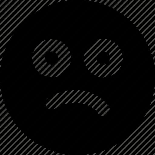 Confused, emoji, emoticons, face icon - Download on Iconfinder