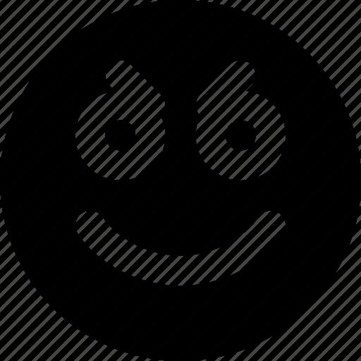 Emoji, emoticons, goofy, face icon