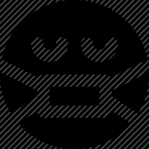 Emoji, emoticons, face, secret icon - Download on Iconfinder
