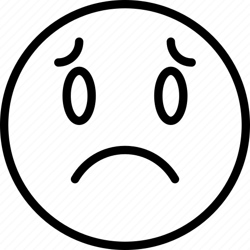 Emoji, emoticons, face, sad icon - Download on Iconfinder