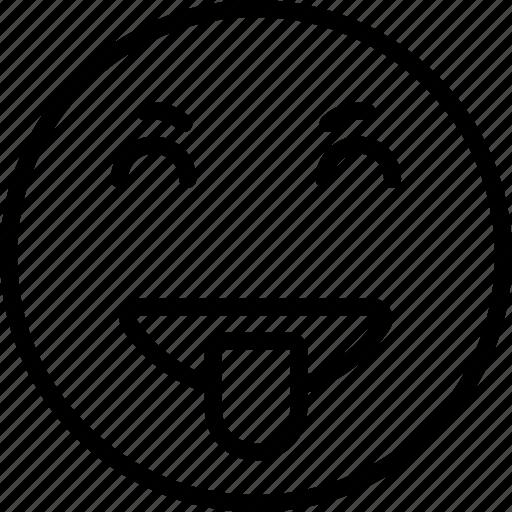 Emoji, emoticons, goofy, face icon - Download on Iconfinder