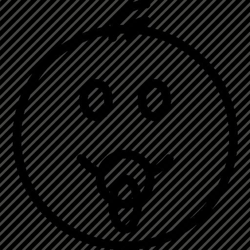 baby, emoji, emoticons, face icon