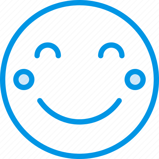 Blushing, emoji, emoticons, face icon - Download on Iconfinder