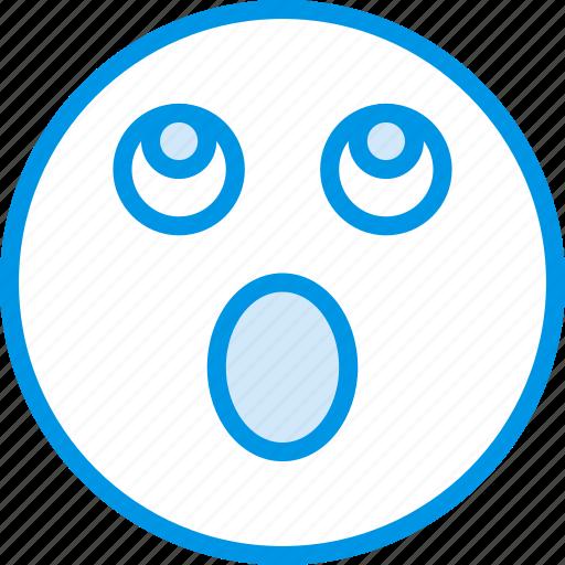 Emoji, emoticons, face, surprised icon - Download on Iconfinder
