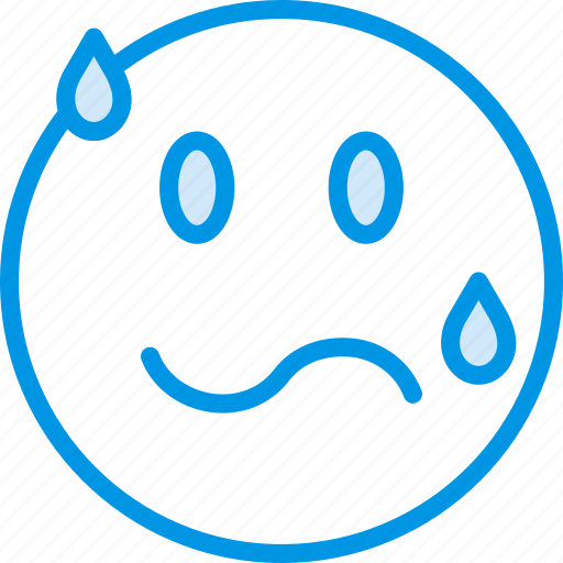Emoji, emoticons, face, intimidated icon - Download on Iconfinder