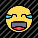 humor, joyous, laugh, laughter, glad, emoticon, emoji