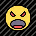 stress, frustration, upset, emotion, annoyed, irritated, emoji