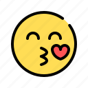 kiss, love, affection, affection kiss, emoji, tempting, seduce
