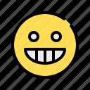 laugh, grinning, happy, funny, emoji, emoticon, laughter