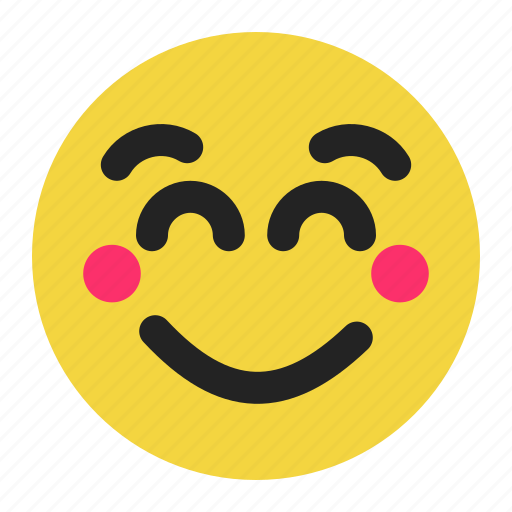 emoji, emoticon, expression, happy, love, smile icon