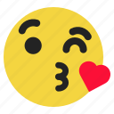 emoji, emoticon, expression, funny, love, smile