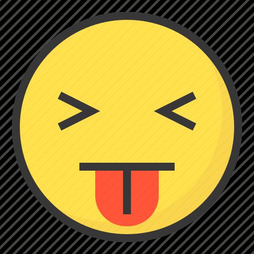 blah, disgust, emoji, emoticon, expression, face icon
