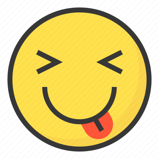 Emoji, emoticon, expression, face, naughty icon - Download on Iconfinder