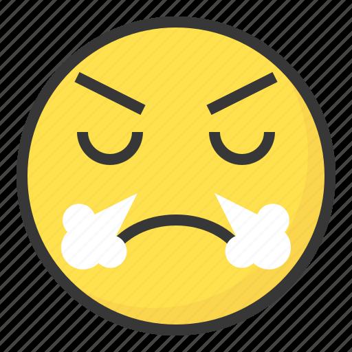 confident, emoji, emoticon, expression, face icon