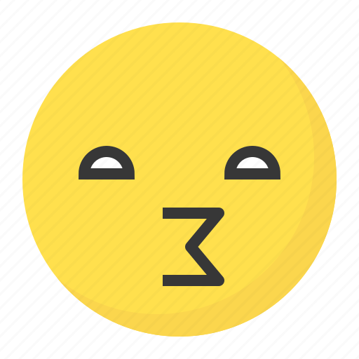 Emoji, emoticon, expression, face, gossip, naughty icon - Download on Iconfinder