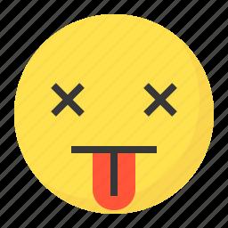blah, emoji, emoticon, expression, face icon