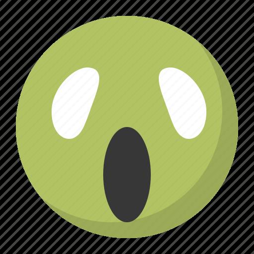 emoji, emoticon, expression, face, haunted icon