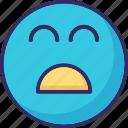 baffled emoticon, emoticons, laugh, smiley icon