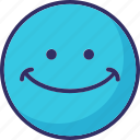 emoticons, happy, laughing, smile icon
