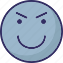 emoticons, smiley, smiling, twinkling icon