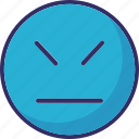 angry, emoticons, rage, smiley icon