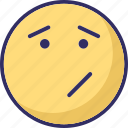 angry, confused, sad, winkle icon