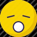 open mouth, sleep, sleepy, sleepy and open mouth icon