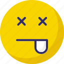 cheeky, cheeky with eye, sleeping with cheeky icon