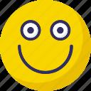 baffled emoticon, boring, dull, nodding icon