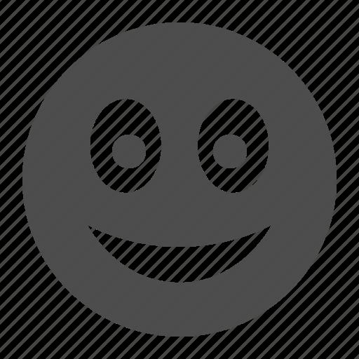 emote, emoticon, emoticons, face, happy, laugh, smile, smiley icon