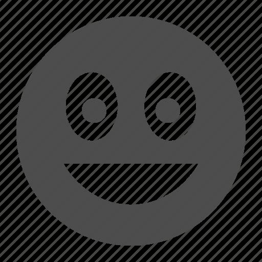 emote, emoticon, emoticons, face, happy, laugh, laughing, smiley, smiley face icon