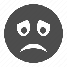 emoticon, emoticons, face, sad, smiley, smiley face icon