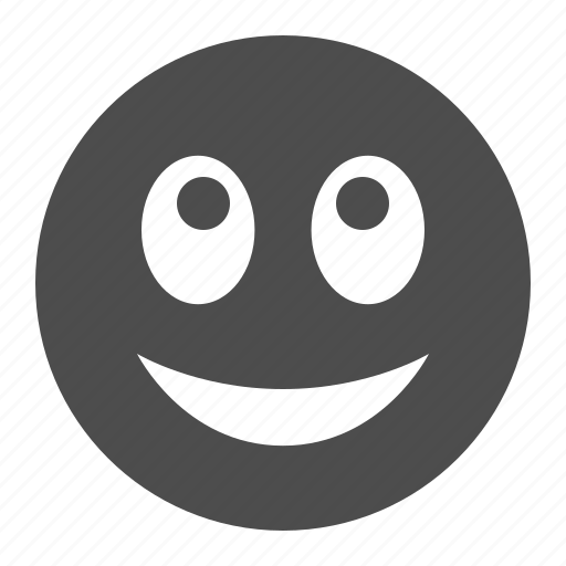 emoticon, face, happy, smile, smiley, smiling, thankful icon