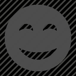 emoticon, emoticons, face, happy, smiley, smiley face icon