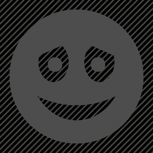 embarassed, emote, emoticon, emoticons, face, smiley icon
