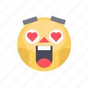 emoji, emoticon, happy, joy, laugh, reaction, smile icon
