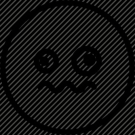 dizzy, emoji, emotion, expression, face, feeling icon