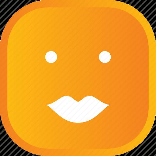 emoji, face, facial, kiss, smiley icon