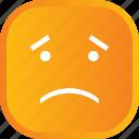 emoji, face, facial, sad, smiley icon