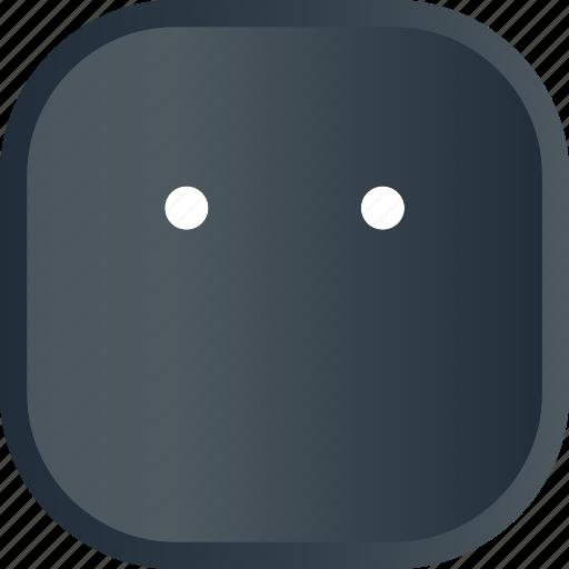 emoji, face, facial, silent, smiley icon
