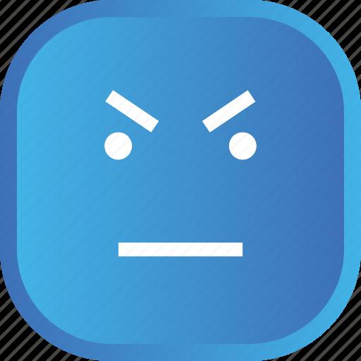 blue, emoji, face, facial, smiley, starring icon