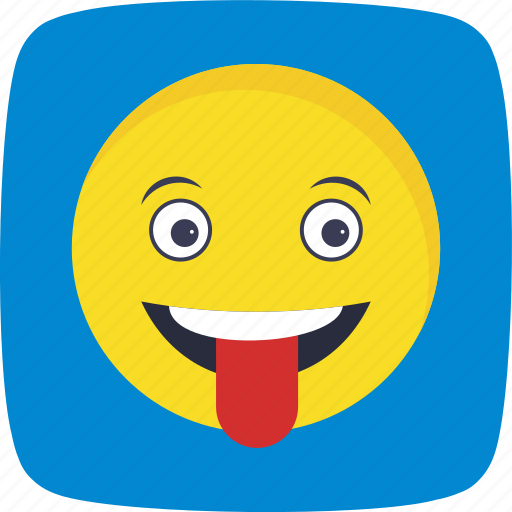 emoticon, smiley, stuck, tongue icon